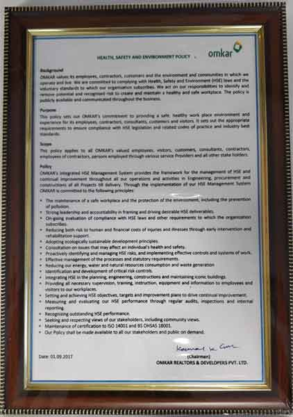 Omkar Certification