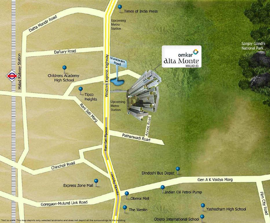 Omkar Street Map